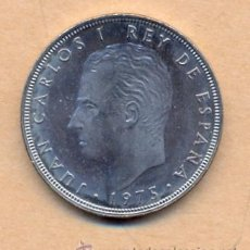 Monedas Juan Carlos I: AZUL 4 - 100 PESETAS 1975 (76) F.D.C. JUAN CARLOS I. Lote 35491842