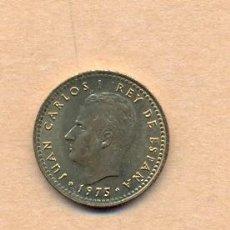 Monedas Juan Carlos I: AZUL 6 - 1 PESETA 1975 (77) - JUAN CARLOS I - F.D.C.. Lote 35492672