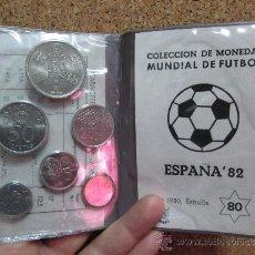 Monedas Juan Carlos I: CARTERA MUNDIAL 82 ESTRELLA 80 6 VALORES. Lote 35680156