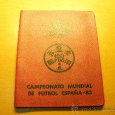 Monedas Juan Carlos I: CARTERA CON 6 MONEDAS JUAN CARLOS I, AÑO 1980 ESTRELLA 80. MUNDIAL 82. SIN CIRCULAR.FILABO.. Lote 35730799