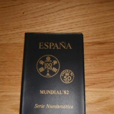 Monnaies Juan Carlos I: CARNET SERIE NUMISMÁTICA MUNDIAL 82 ESPAÑA (1982) *80 - SÓLO CARNET. Lote 36255512