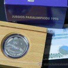 Monedas Juan Carlos I: 1000 PESETAS.1996 MONEDA DE PLATA. JUEGOS PARALIMPICOS. 96 ESPAÑA. Lote 36388619
