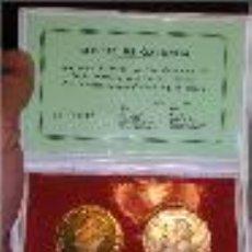 Monedas Juan Carlos I: JUAN CARLOS I **CENTENARIO DE LA EMISION DE 100 PESETAS** TIRADA DE 500 UNIDADES NUMERADAS. Lote 39232919