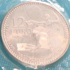 Monedas Juan Carlos I: MONEDA DE PLATA 12€ IV ANIVERSARIO DE LA PRIMERA EDICION DEL QUIJOTE, 1605 - 2005, SIN CIRCULAR. Lote 36615746