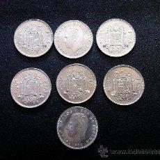 Monedas Juan Carlos I: SIETE MONEDAS DE 100 PESETAS 1976. Lote 37205309