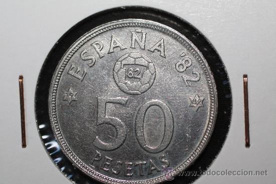 MONEDA DE 50 PESETAS 1980 * 82 *82 MUNDIAL 82 (Numismática - España Modernas y Contemporáneas - Juan Carlos I)