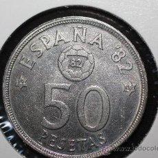 Monedas Juan Carlos I: MONEDA DE 50 PESETAS 1980 * 82 *82 MUNDIAL 82. Lote 37330700
