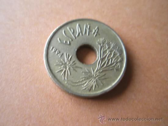 *MONEDA DE ESPAÑA-25 PESETAS-1994-REY-CANARIAS-. (Numismática - España Modernas y Contemporáneas - Juan Carlos I)