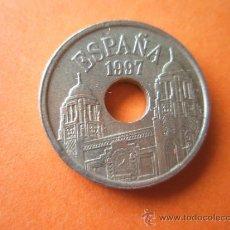 Monedas Juan Carlos I: *MONEDA DE ESPAÑA-25 PESETAS-1997-REY-MELILLA-V.CANTO ANCHO-.. Lote 106604106