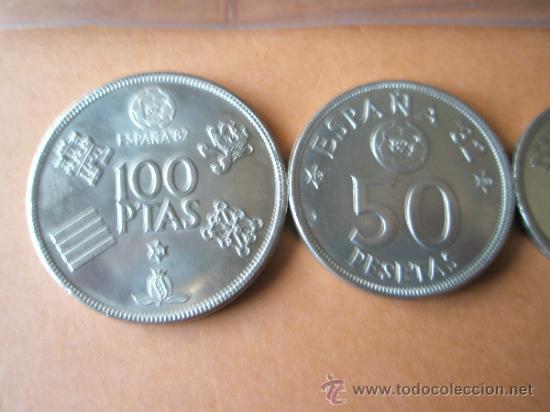 Monedas Juan Carlos I: -MONEDAS DE ESPAÑA-MUNDIAL 1982*80-PERFECTAS-FUNDA-. - Foto 5 - 37954772