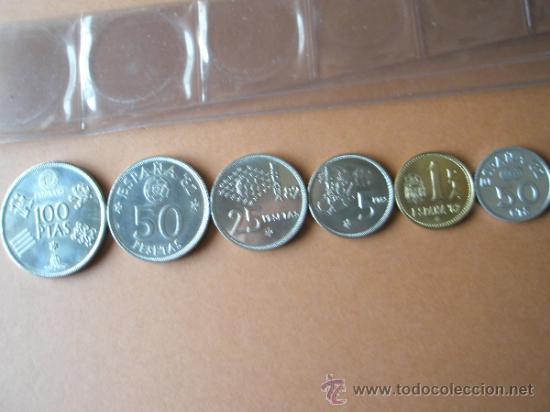 Monedas Juan Carlos I: -MONEDAS DE ESPAÑA-MUNDIAL 1982*80-PERFECTAS-FUNDA-. - Foto 3 - 37954772