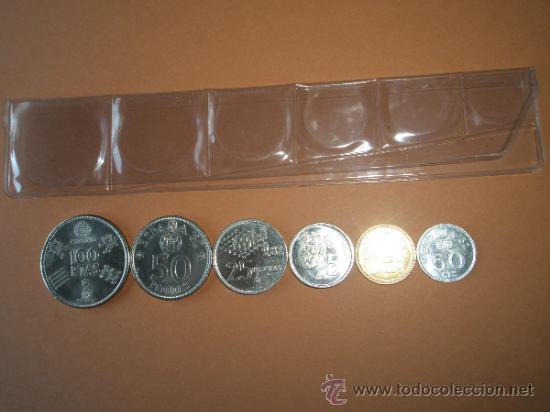 Monedas Juan Carlos I: -MONEDAS DE ESPAÑA-MUNDIAL 1982*80-PERFECTAS-FUNDA-. - Foto 2 - 37954772