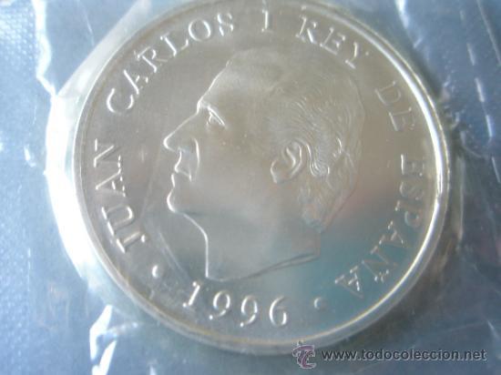 Monedas Juan Carlos I: MONEDA DE ESPAÑA-2000 PESETAS-1996-PLATA-Fco DE GOYA-MAJA DESNUDA-NUEVA-. - Foto 2 - 37969434