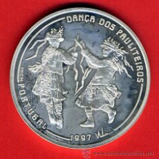 Monedas Juan Carlos I: MONEDA FNMT, 3ª SERIE IBEROAMERICANA 1997, 1000 ESCUDOS PORTUGAL , PLATA , LEER , ORIGINAL, AL19. Lote 37984305