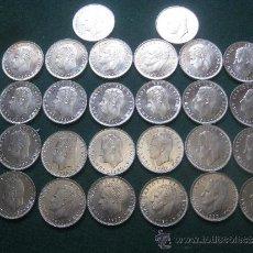 Monedas Juan Carlos I: 26 MONEDAS DE 25 PESETAS MUNDIAL 1982 - AÑO 1982 - ESTRELLA 80 -. Lote 38032635