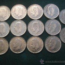 Monedas Juan Carlos I: 14 MONEDAS DE 50 PESETAS 1988 - ESTRELLA 82 S/C. Lote 38037076
