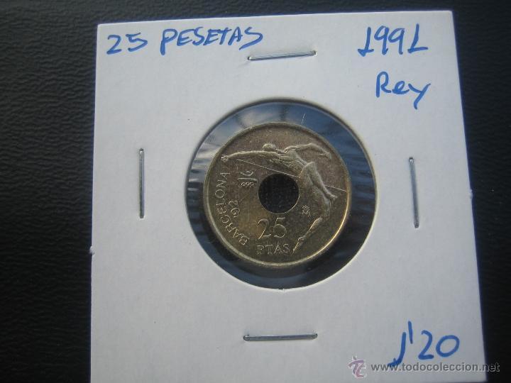 25 PESETAS 1991 REY (Numismática - España Modernas y Contemporáneas - Juan Carlos I)