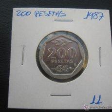 Monedas Juan Carlos I: 200 PESETAS 1987. Lote 39417301