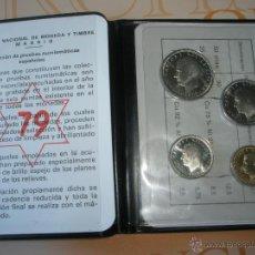 Monedas Juan Carlos I: CARTERA MONEDAS-PRUEBAS NUMISMÁTICAS ESPAÑA-1979-ORIGINALES-NUEVAS-.. Lote 39353035