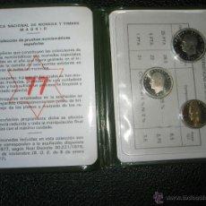 Monedas Juan Carlos I: *9919-CARTERA MONEDAS-PRUEBAS NUMISMATICAS-F.N.M.T-1977-ESPAÑA-JUAN CARLOS I-ORIGINALES-.. Lote 39359964