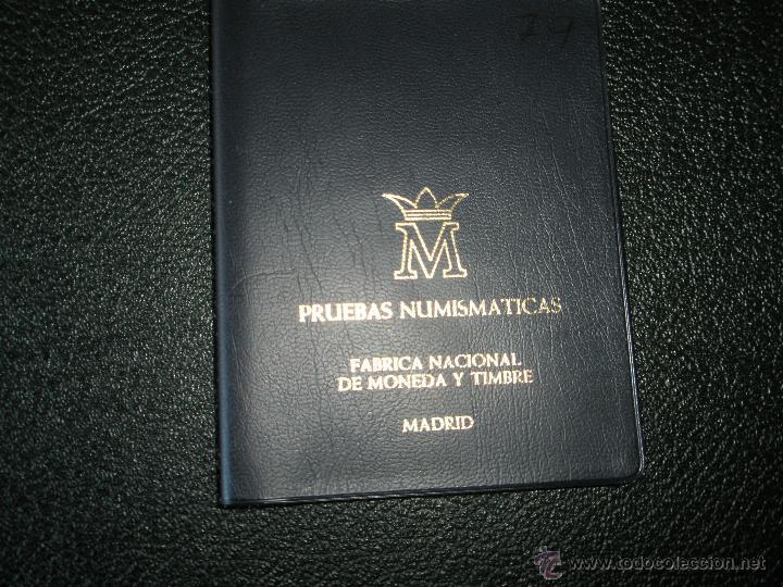 Monedas Juan Carlos I: CARTERA MONEDAS-PRUEBAS NUMISMÁTICAS F.N.M.T-ESPAÑA-1979-JUAN CARLOS I-ORIGINALES-NUEVAS-. - Foto 5 - 39365050