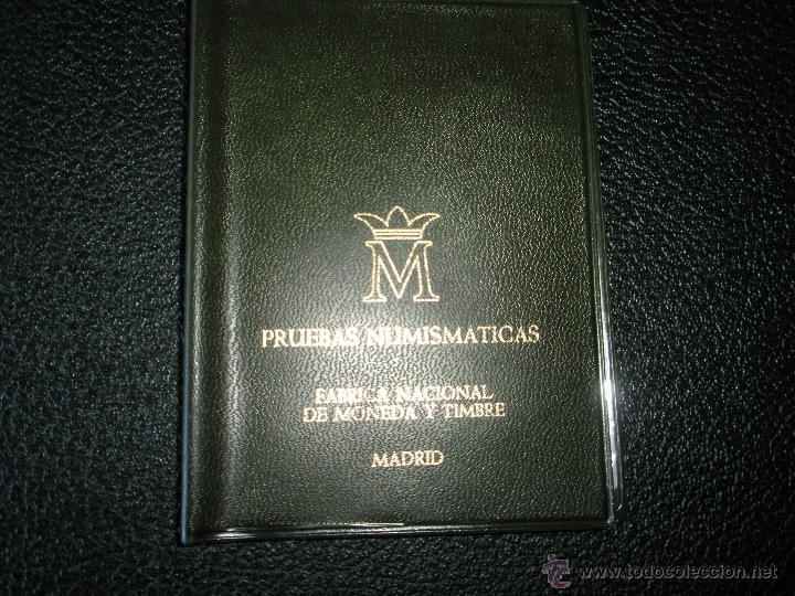 Monedas Juan Carlos I: *9919-CARTERA MONEDAS-PRUEBAS NUMISMATICAS-F.N.M.T-1977-ESPAÑA-JUAN CARLOS I-ORIGINALES-. - Foto 4 - 39359964