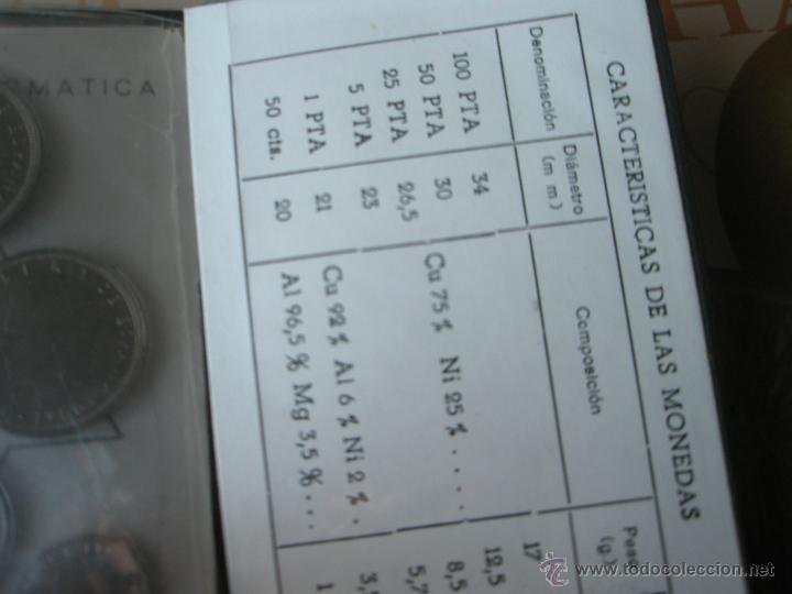 Monedas Juan Carlos I: CARTERA MONEDAS-SERIE NUMISMATICA-ESPAÑA-MUNDIAL ESPAÑA 82*80-ORIGINALES-. - Foto 9 - 39404174