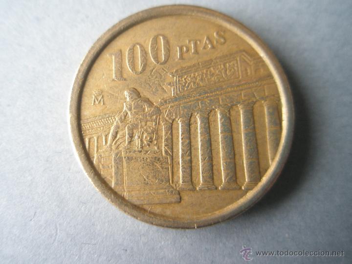 *MONEDA DE ESPAÑA-100 PESETAS-1994-JUAN CARLOS I-FLOR DE LIS PARA ABAJO-. (Numismática - España Modernas y Contemporáneas - Juan Carlos I)
