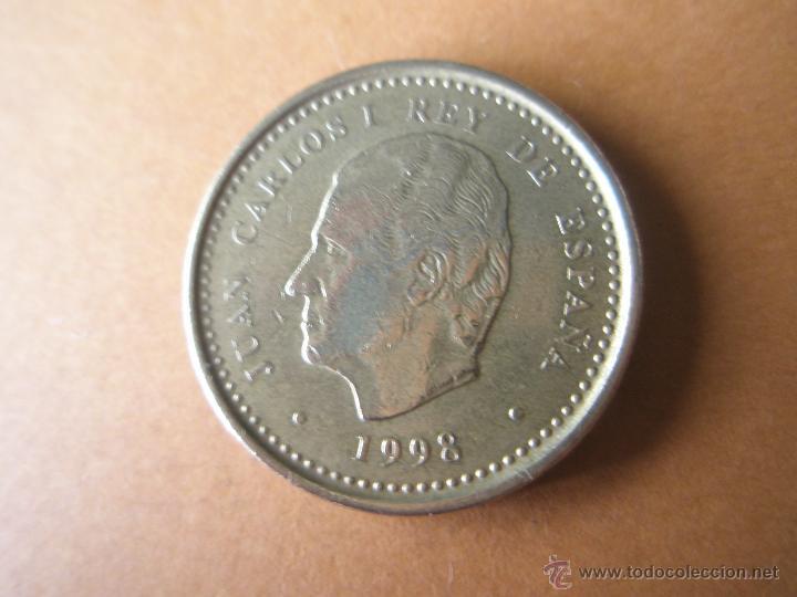*MONEDA-ESPAÑA-100 PESETAS-1998-JUAN CARLOS I-FLOR DE LIS PARA ARRIBA--. (Numismática - España Modernas y Contemporáneas - Juan Carlos I)