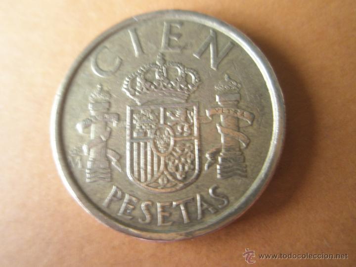 MONEDA-ESPAÑA-100 PESETAS-JUAN CARLOS I-1986-BUEN ESTADO-VER FOTOS (Numismática - España Modernas y Contemporáneas - Juan Carlos I)