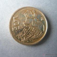 Monedas Juan Carlos I: MONEDA DE ESPAÑA-5 PESTAS-1997-JUAN CARLOS I-.. Lote 39484405