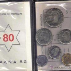 Monedas Juan Carlos I: JUAN CARLOS : CARTERA MONEDAS 1980 ESTRELLA 80 MUNDIAL-82 S/C. Lote 176747155