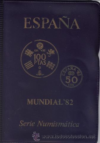 Monedas Juan Carlos I: JUAN CARLOS : CARTERA MONEDAS 1980 ESTRELLA 80 MUNDIAL-82 s/c - Foto 3 - 176747155
