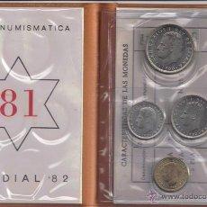 Monedas Juan Carlos I: JUAN CARLOS : CARTERA MONEDAS 1980 ESTRELLA 81 S/C. Lote 60017662