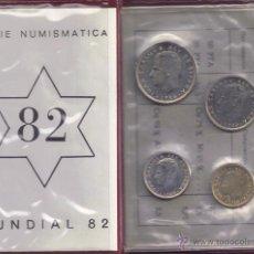 Monedas Juan Carlos I: JUAN CARLOS : CARTERA MONEDAS 1980 ESTRELLA 82 S/C. Lote 60017706