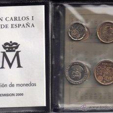 Monedas Juan Carlos I: JUAN CARLOS : CARTERA MONEDAS AÑO 2000 S/C. Lote 39815994