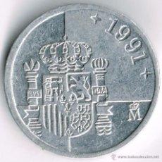 Monedas Juan Carlos I: 1 PTA 1991. Lote 39539869
