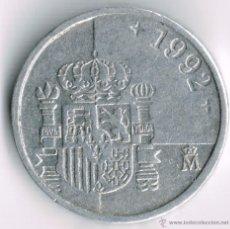 Monedas Juan Carlos I: 1PTA 1992. Lote 39539884