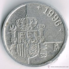 Monedas Juan Carlos I: 1 PTA 1996. Lote 39539946