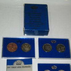 Monedas Juan Carlos I: ESTUCHE MONEDA 500 PESETAS * 1987 * 2 PLATA PROF * FNMT * XXV ANIVERSARIO BODA REYES ESPAÑA. Lote 39899338