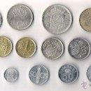 Monedas Juan Carlos I: JUAN CARLOS I LOTE DE 14 MONEDAS TODAS DIFERENTES Y MBC. Lote 40002757
