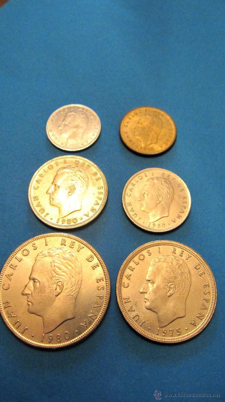 PEQUEÑA COLECCION MONEDAS JUAN CARLOS 1º- MUNDIAL 82. (Numismática - España Modernas y Contemporáneas - Juan Carlos I)
