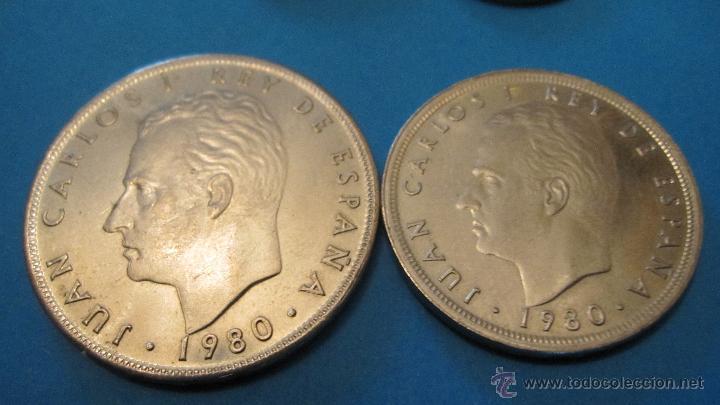 Monedas Juan Carlos I: PEQUEÑA COLECCION MONEDAS JUAN CARLOS 1º- MUNDIAL 82. - Foto 3 - 40080746