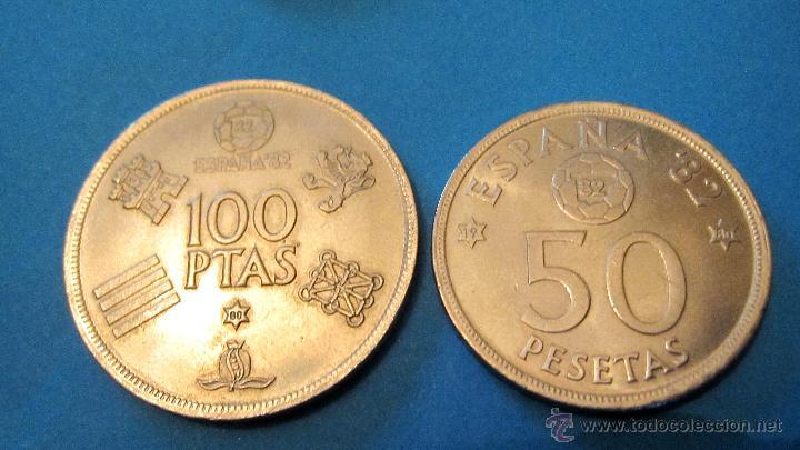 Monedas Juan Carlos I: PEQUEÑA COLECCION MONEDAS JUAN CARLOS 1º- MUNDIAL 82. - Foto 4 - 40080746