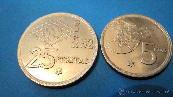 Monedas Juan Carlos I: PEQUEÑA COLECCION MONEDAS JUAN CARLOS 1º- MUNDIAL 82. - Foto 6 - 40080746