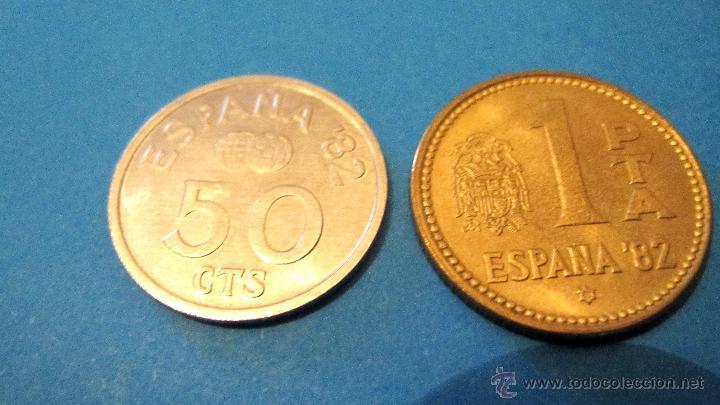 Monedas Juan Carlos I: PEQUEÑA COLECCION MONEDAS JUAN CARLOS 1º- MUNDIAL 82. - Foto 8 - 40080746