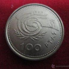 Monedas Juan Carlos I: 100 PESETAS 1999 EBC. Lote 40393551