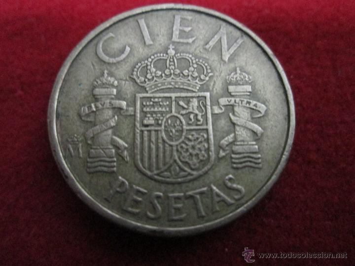 Monedas Juan Carlos I: 100 pesetas 1983 circulada LA FECHA MAS ESCASA - Foto 2 - 40428428
