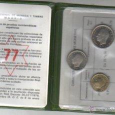 Monedas Juan Carlos I: CARPETA DE FABRICA DE MONEDA Y TIMBRE DE MADRID COLE, PRUEBA NUMISMATICAS 1977 JUAN CARLOS I . Lote 41040322
