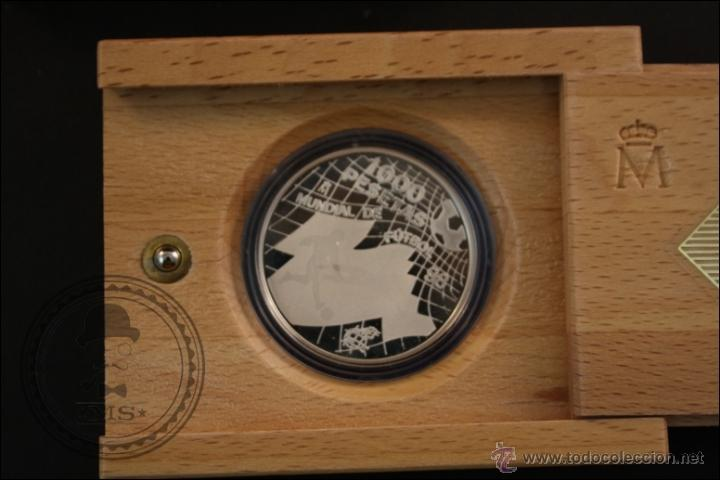 Monedas Juan Carlos I: Estuche FNMT - Mundial de Fútbol 98 - Año 1998 - 1000 Pesetas - Plata 925 Milésimas - FDC/Proof - Foto 2 - 165425786